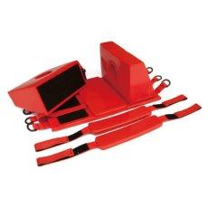 画像4: 米国 マリンレスキュープロダクト社 スパインボード3点セット (スパインボード・頭部固定具・患者固定ベルト3本) (4)