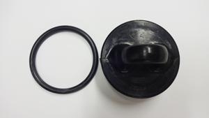 画像1: DLRGレスキューマネキン用キャップ 底部蓋 ワッシャー付 (1)