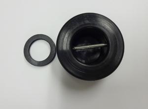 画像1: DLRGレスキューマネキン用キャップ 頭部蓋 ワッシャー付 (1)