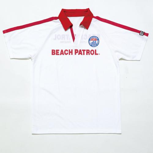 画像1: ビーチパトロール半袖シャツ(ウォーターセーフティーやBLS資格者) (1)